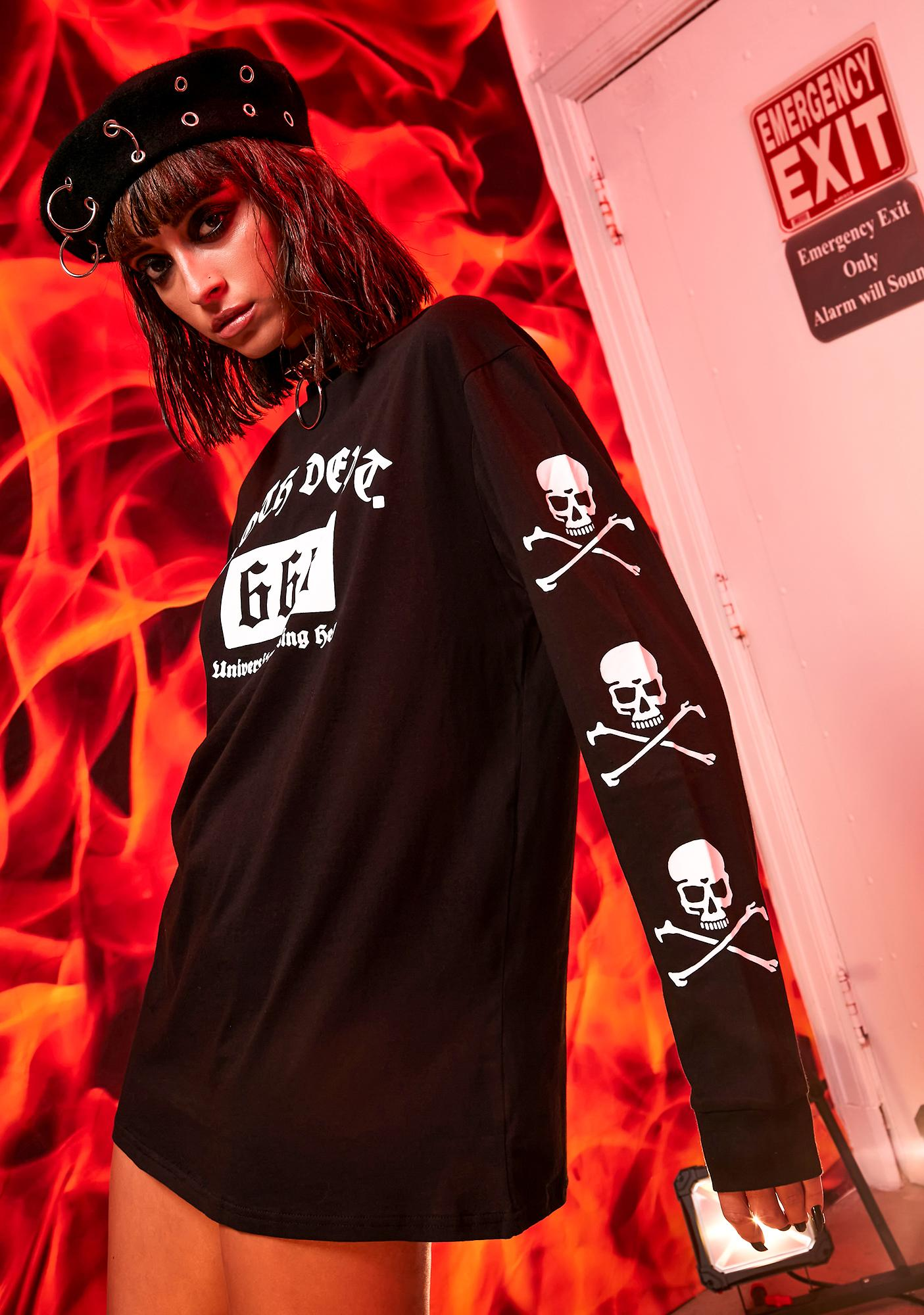 Current Mood School For Sinners Graphic Tee