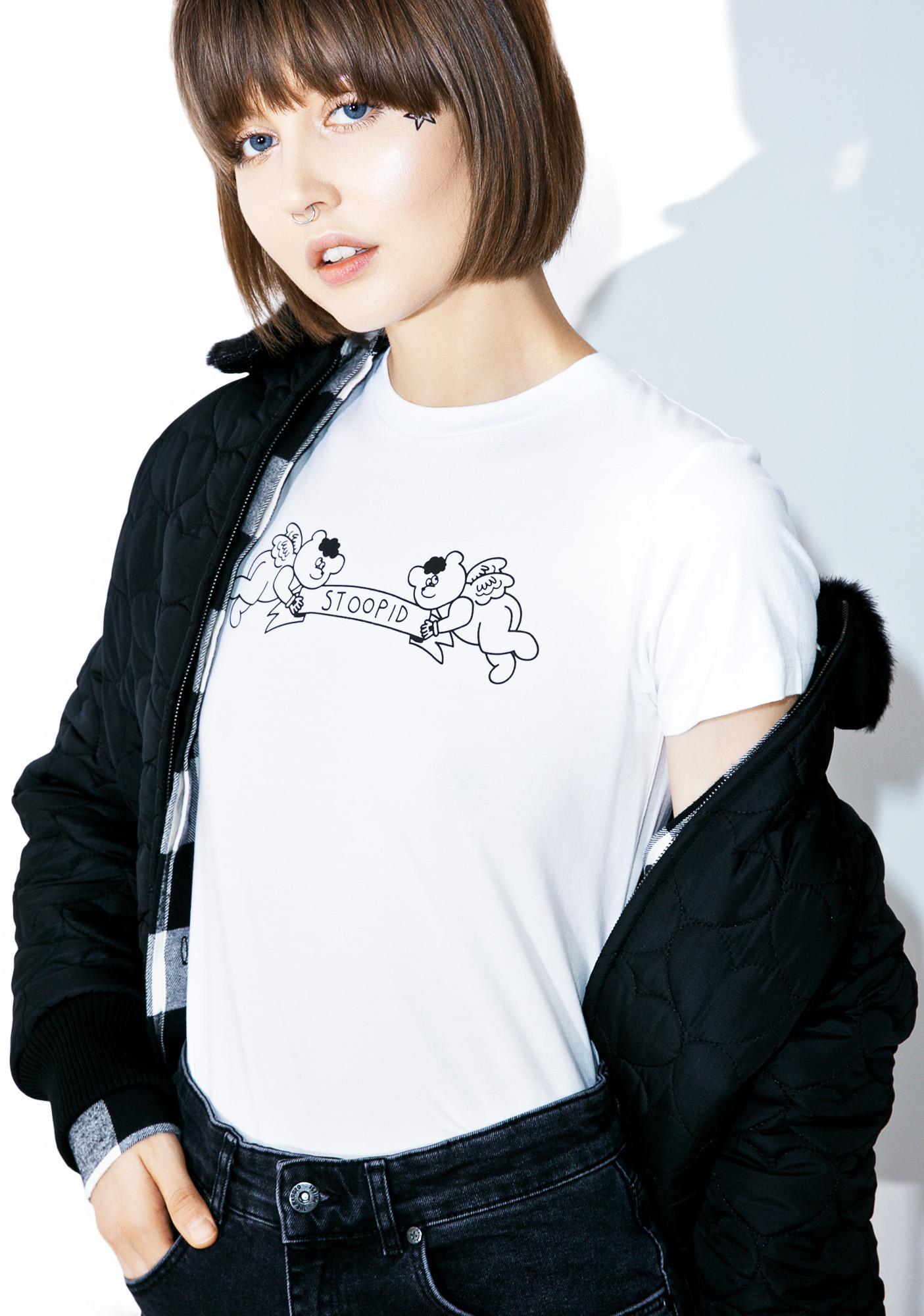 Lazy Oaf Stoopid T-Shirt