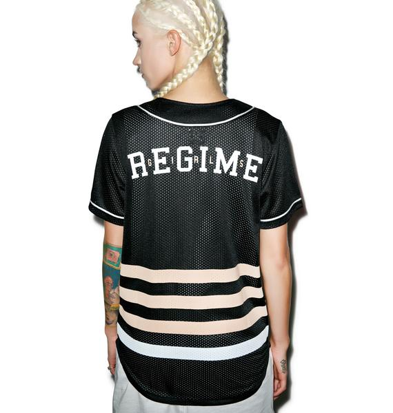 Civil Clothing Fierce Regime Mesh Baseball Jersey