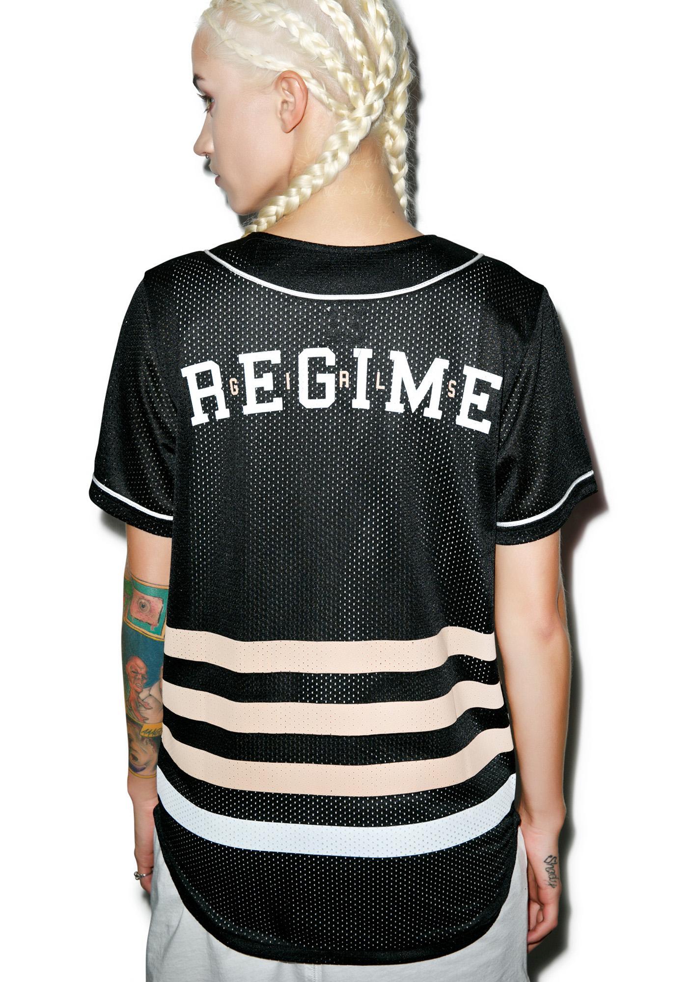 Civil Clothing Fierce Regime Mesh Baseball Jersey