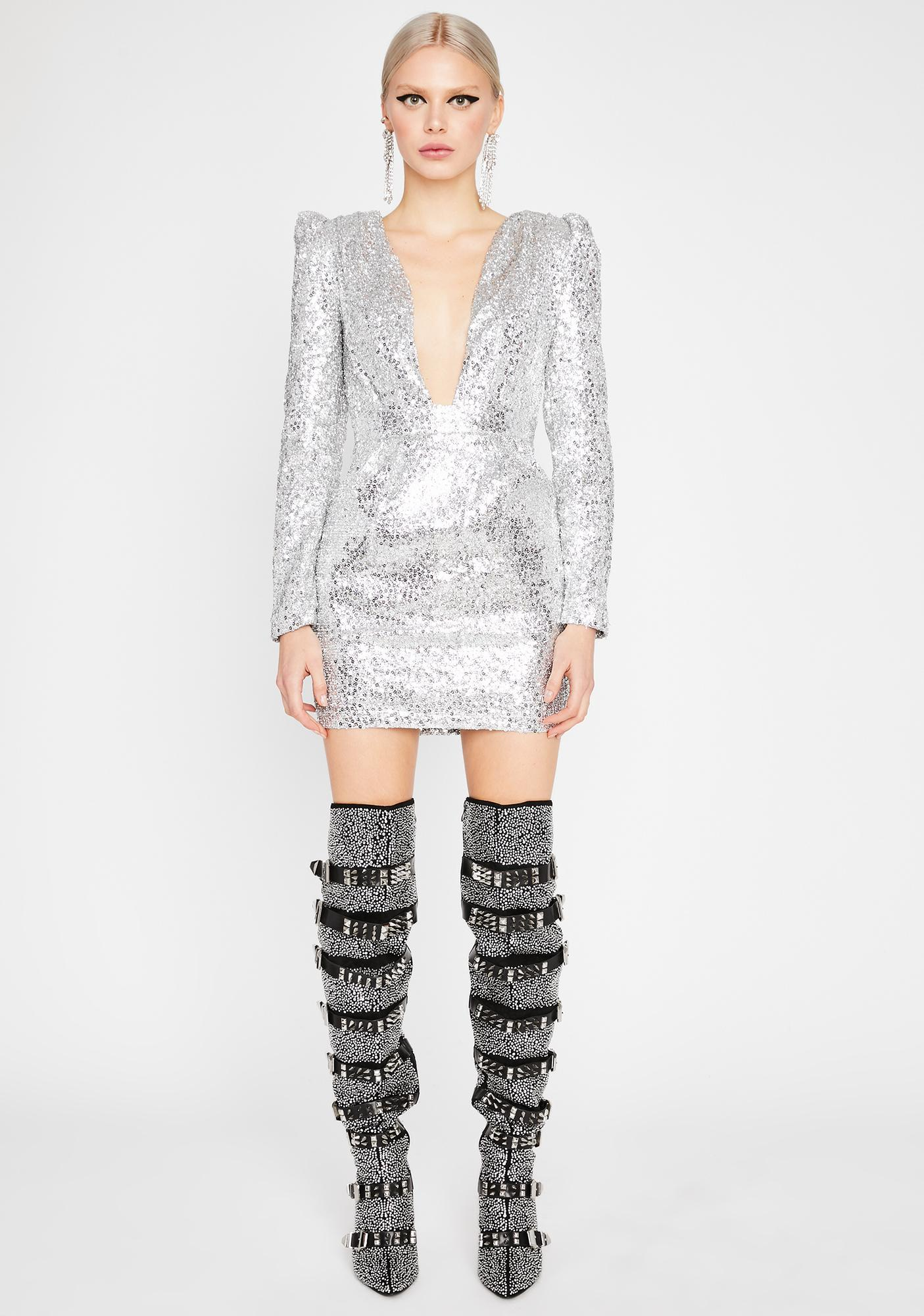 Bottle Service Sequin Dress