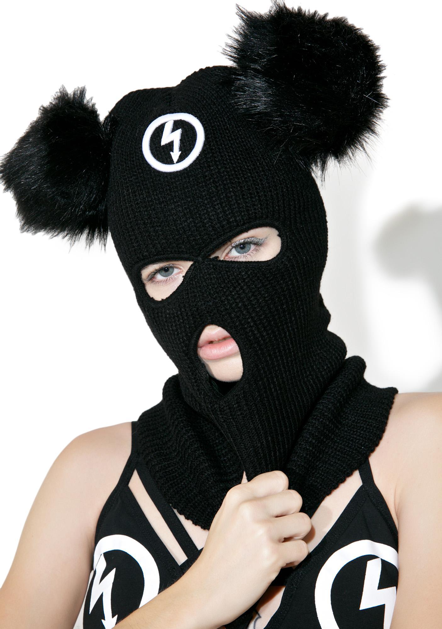 Killstar Mousetrap Balaclava Mask