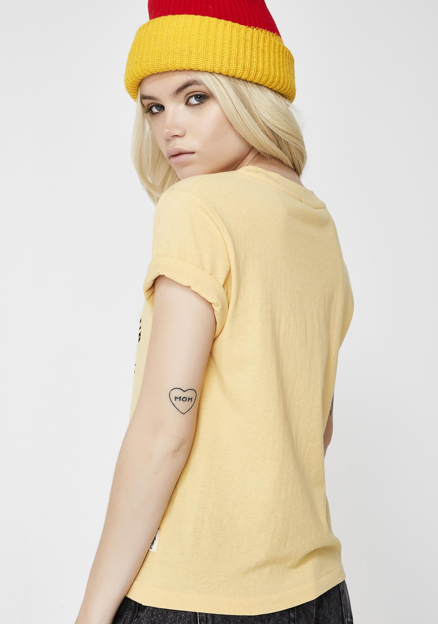 Insight Couldn't Care Short Sleeve Tee