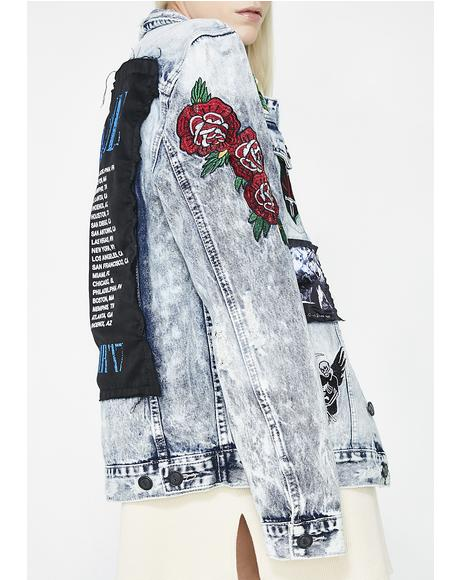 Rock Tour Denim Jacket