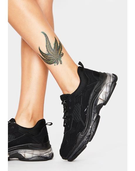 Run For It Sporty Sneakers