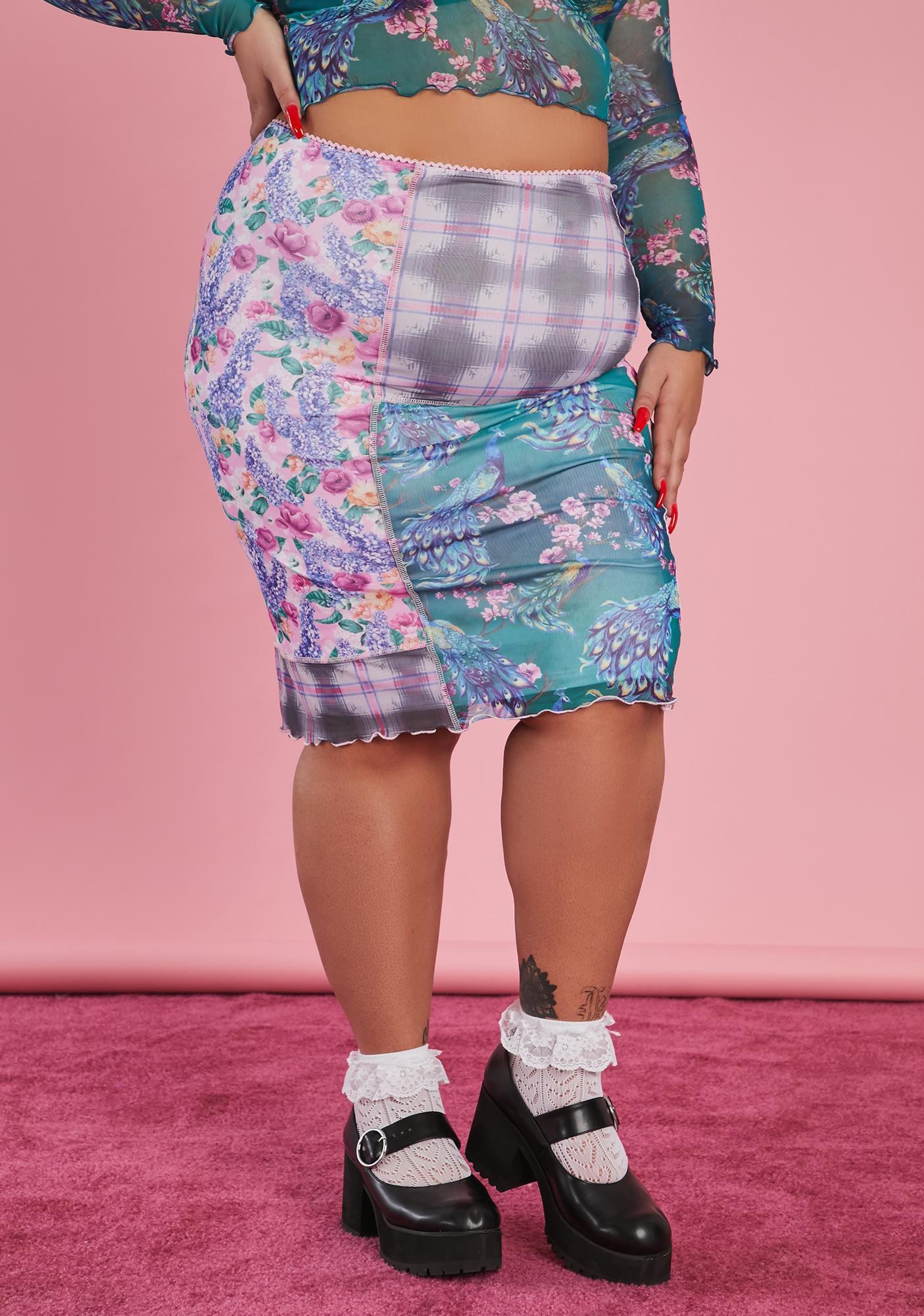 Sugar Thrillz And Sews It Begins Patchwork Skirt