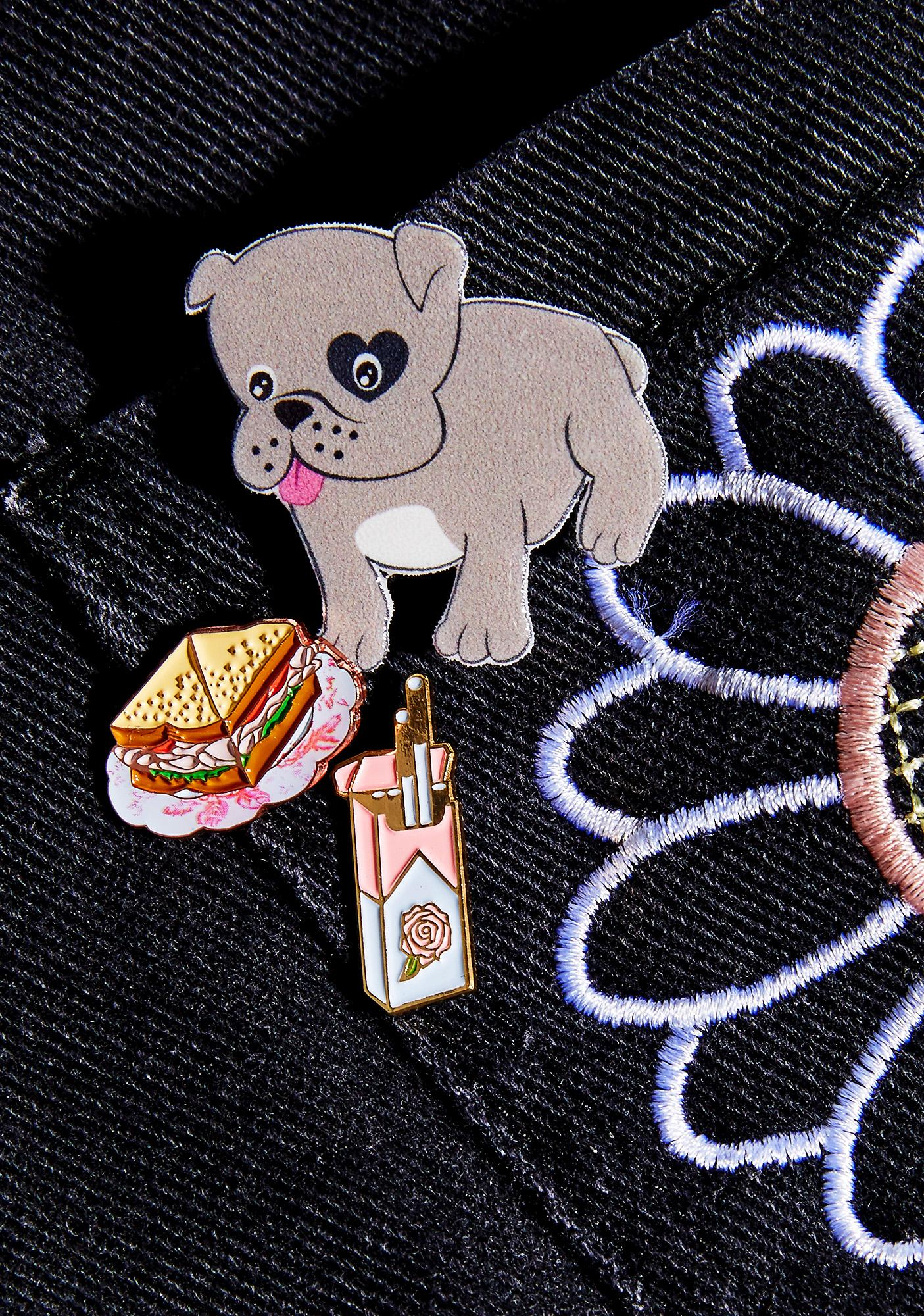 Unicorn Crafts Bulldog Brooch