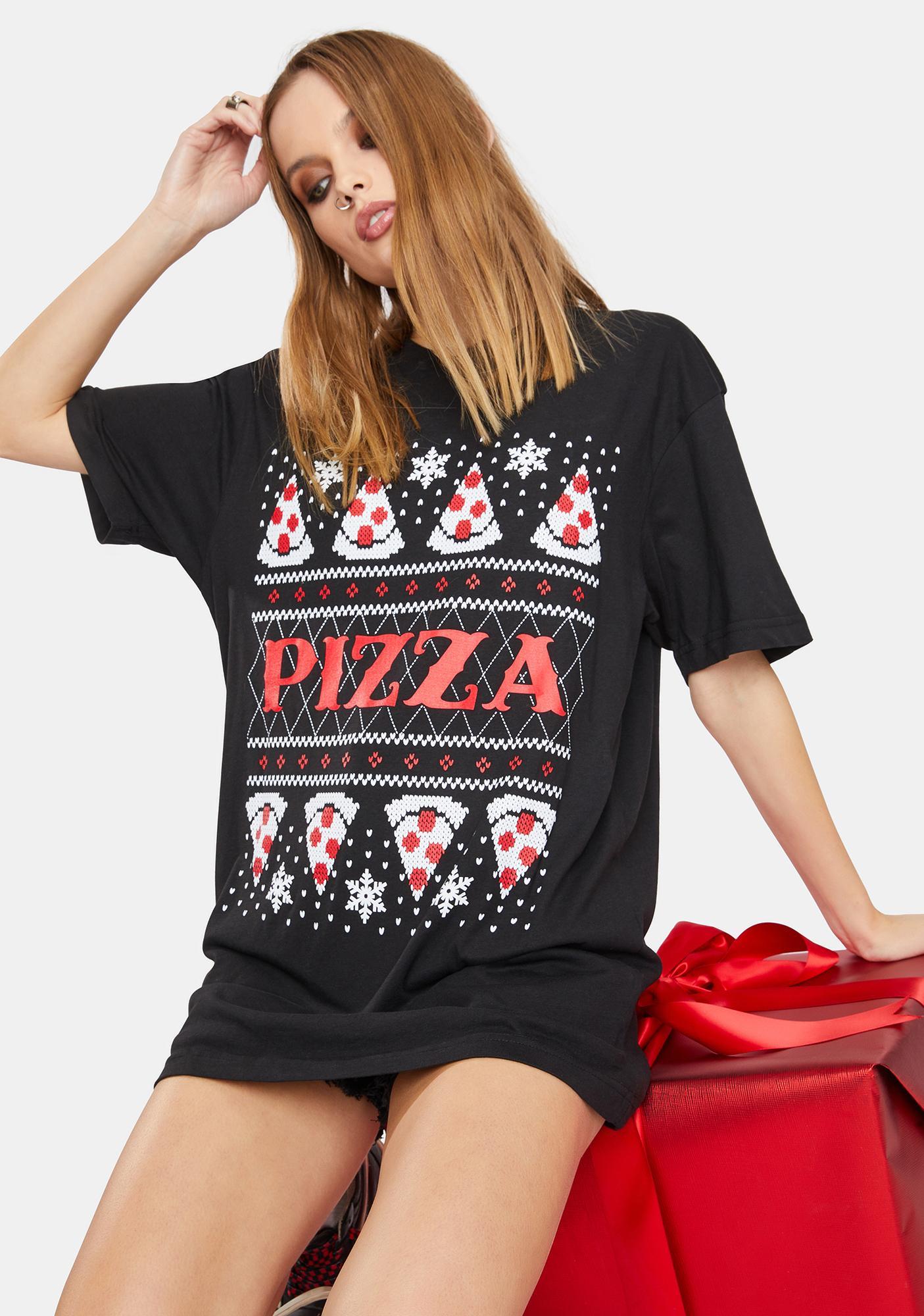 Cartel Ink Pizza Xmas Tee