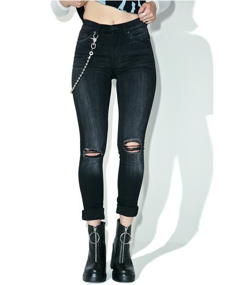 Turnout Black Jeans