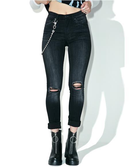 Turnout Black Jeans