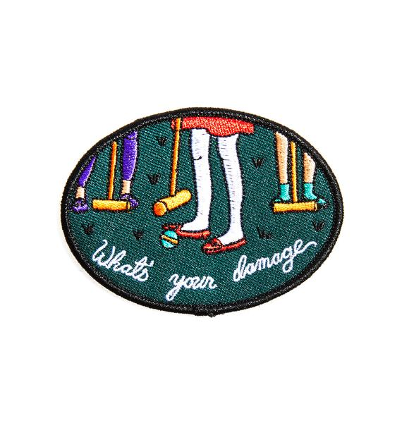 Rosehound Apparel Heathers Patch