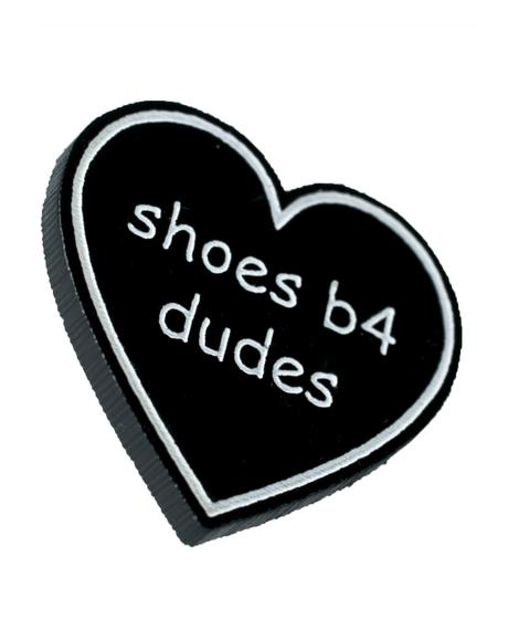 Shoes B4 Dudes Pin