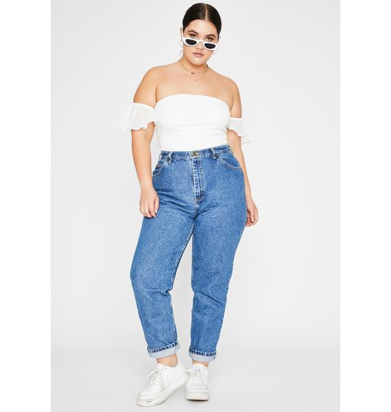 Purely Got Simple Luv Strapless Bodysuit