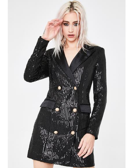 Dance With Me Blazer Dress