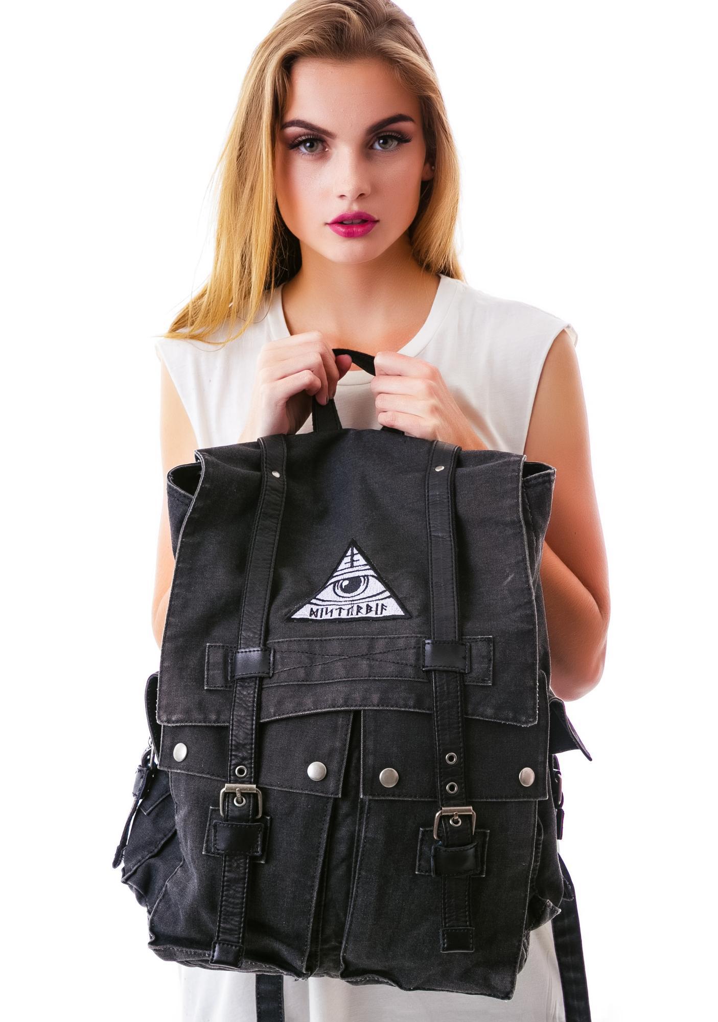 Disturbia All Seeing Backpack