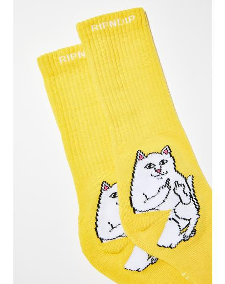 Bodak Lord Nermal Socks