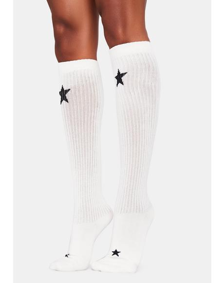 Angel Infinite Wishes Knee High Socks