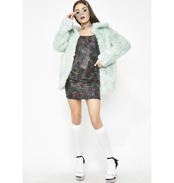 LA Nights Sequin Dress