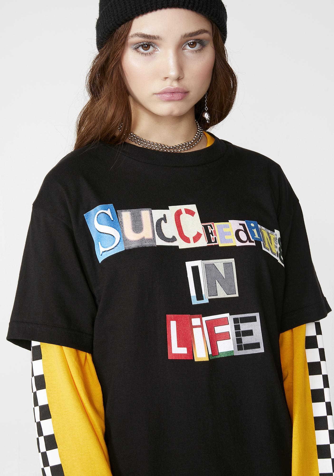 SUCC INTERNATIONAL Succeeding In Life Tee