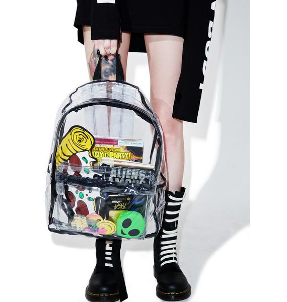 Double Dare Clear Backpack