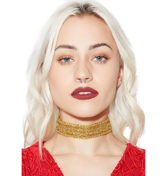 Mayfair Metallic Choker