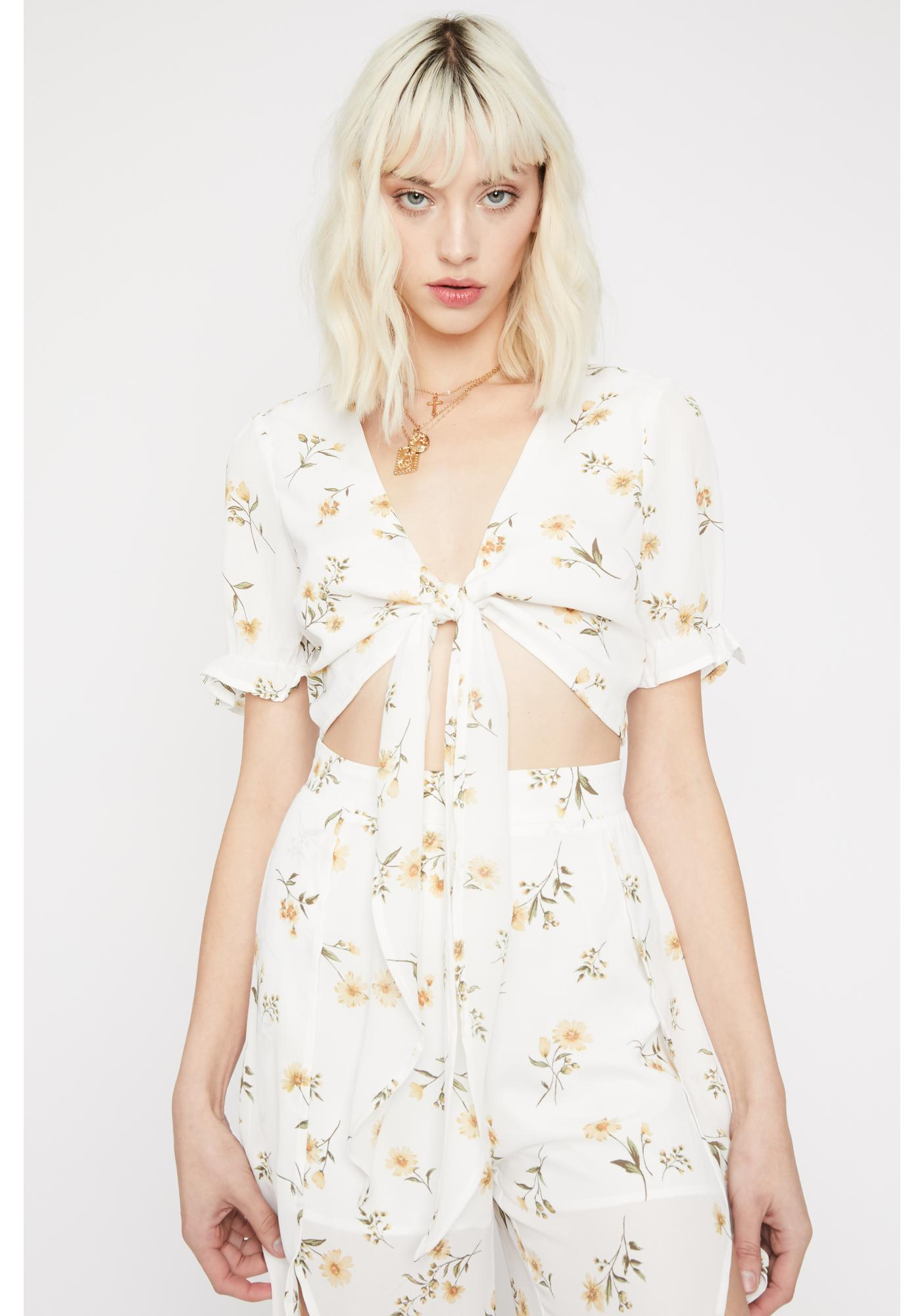 Oh My Gloss Floral Top