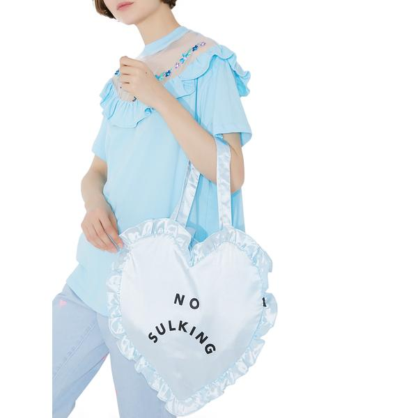Lazy Oaf No Sulking Heart Bag