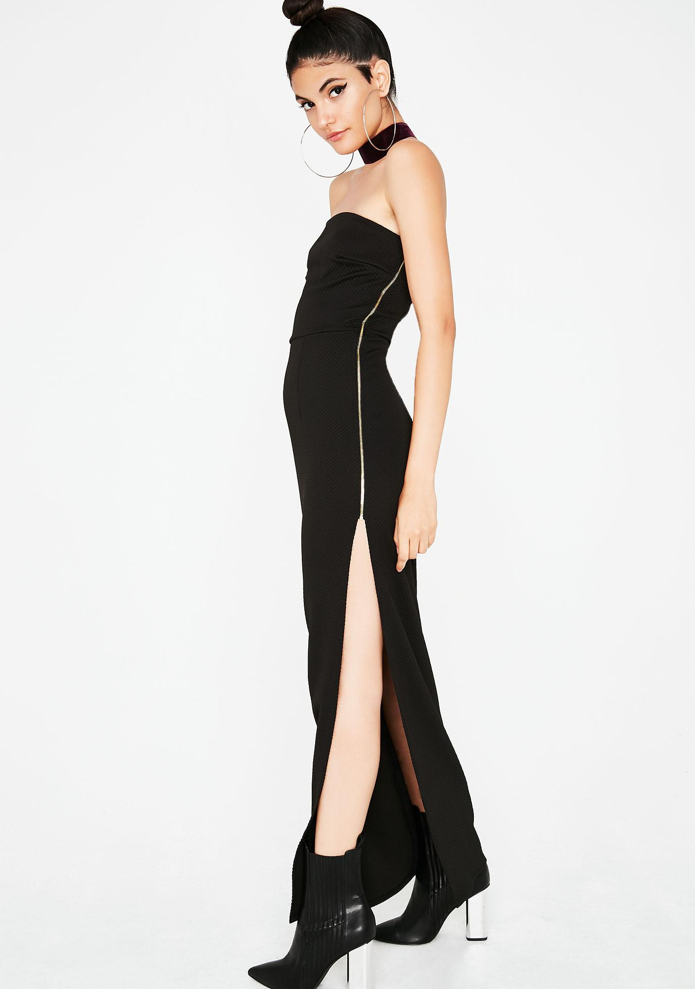 Up To There Maxi Dress