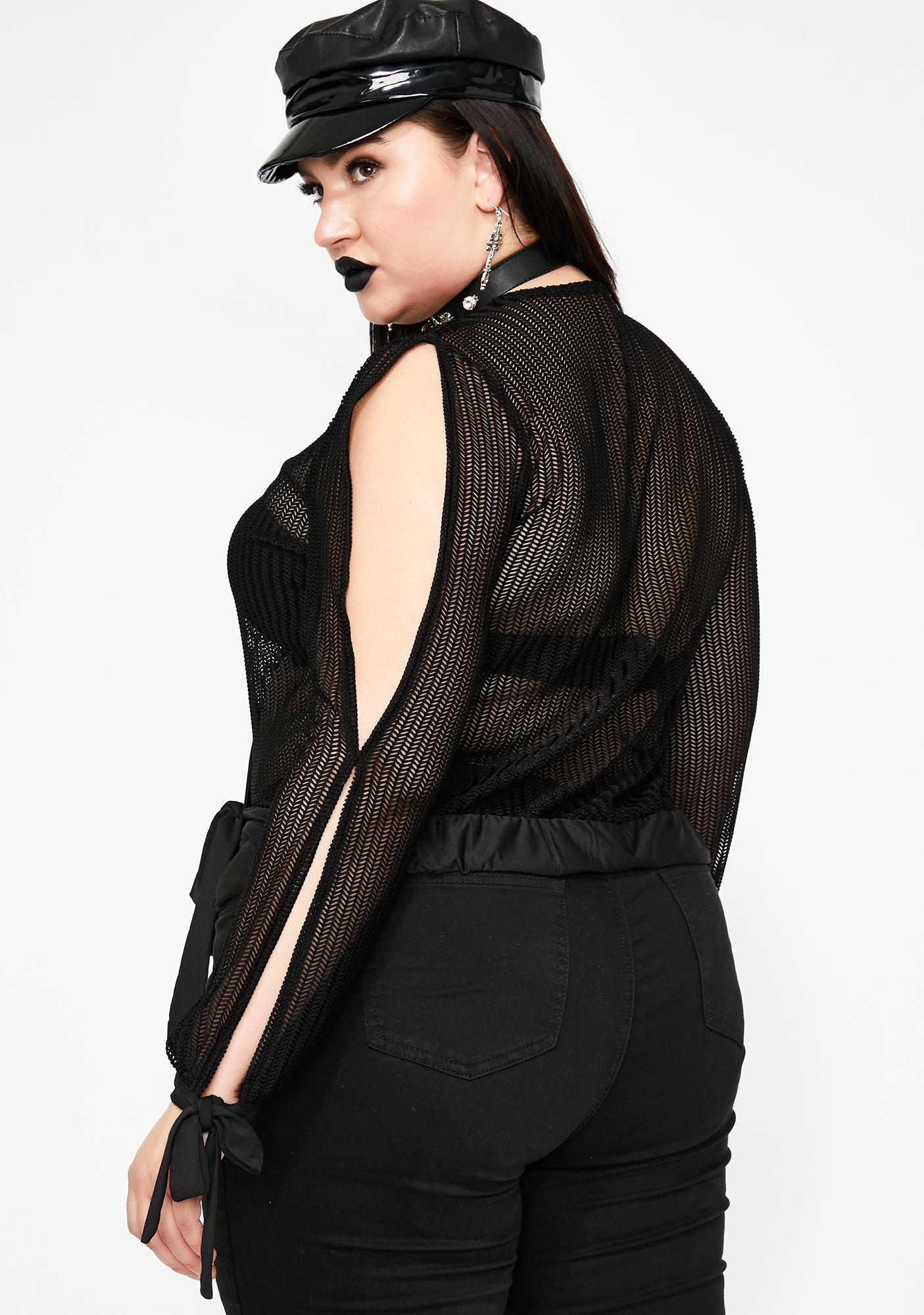 Babe Summoning Wrap Top