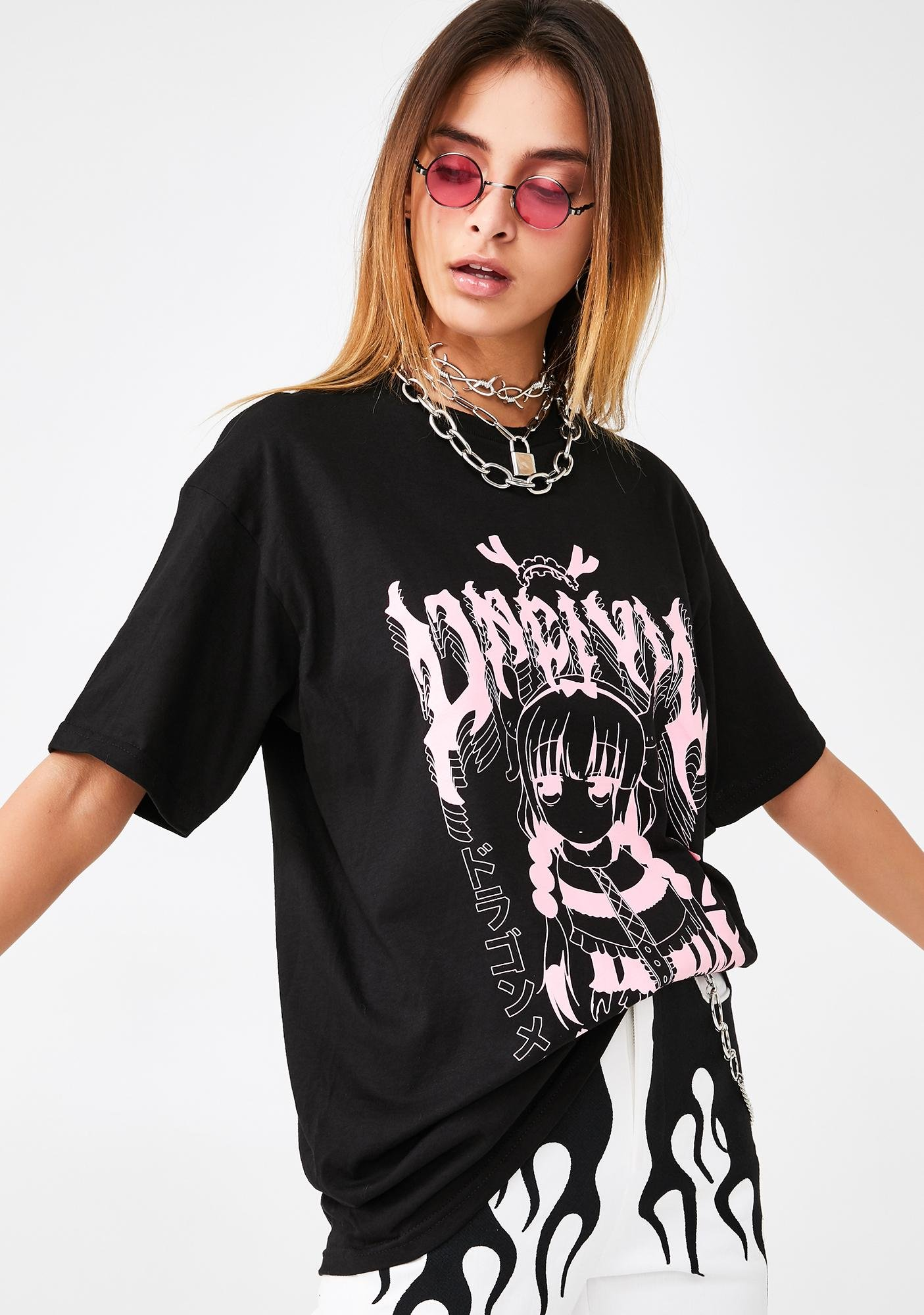 UNCIVIL XXX Kanna Gang Graphic Tee