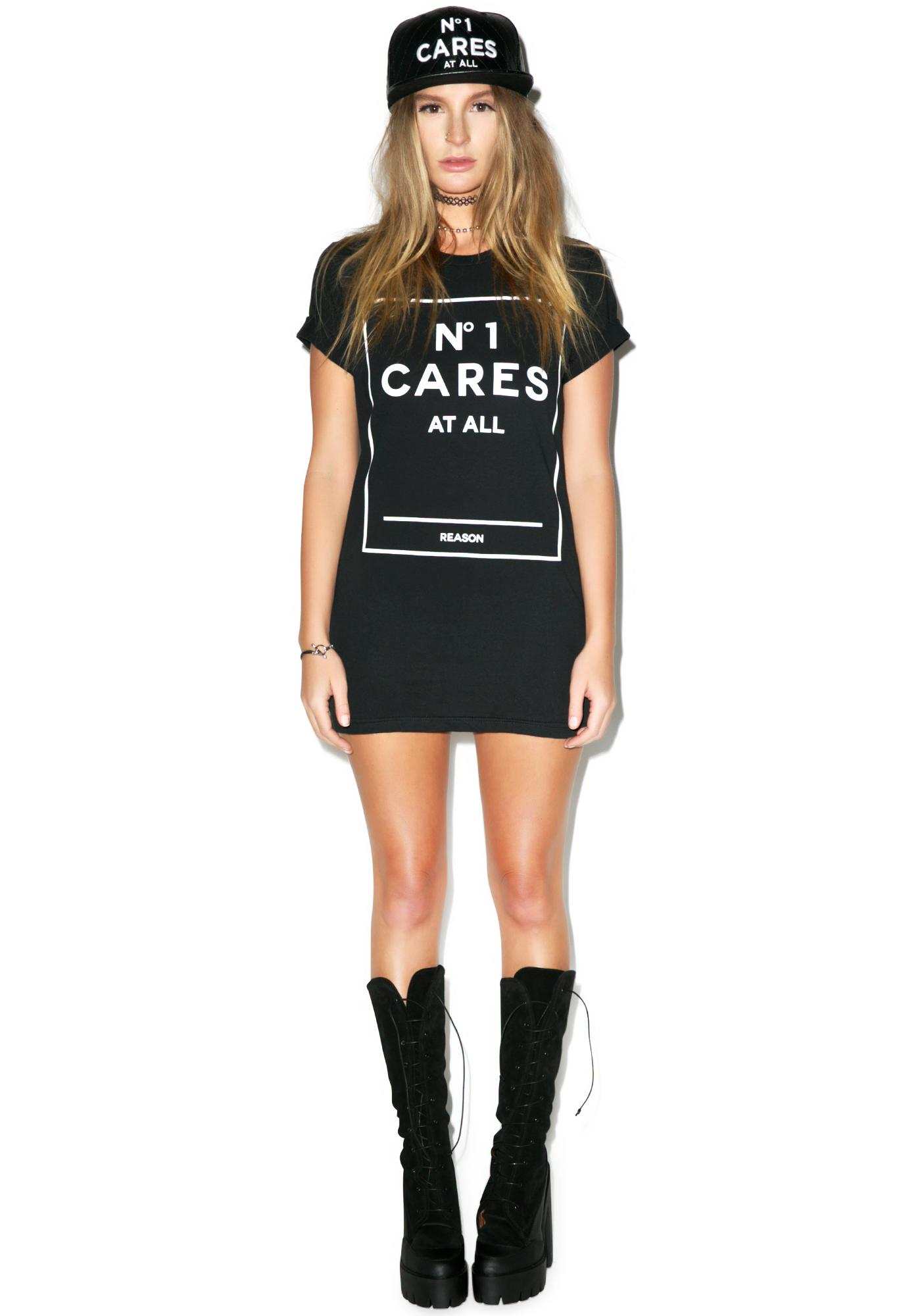 Reason No 1 Cares Box Tee