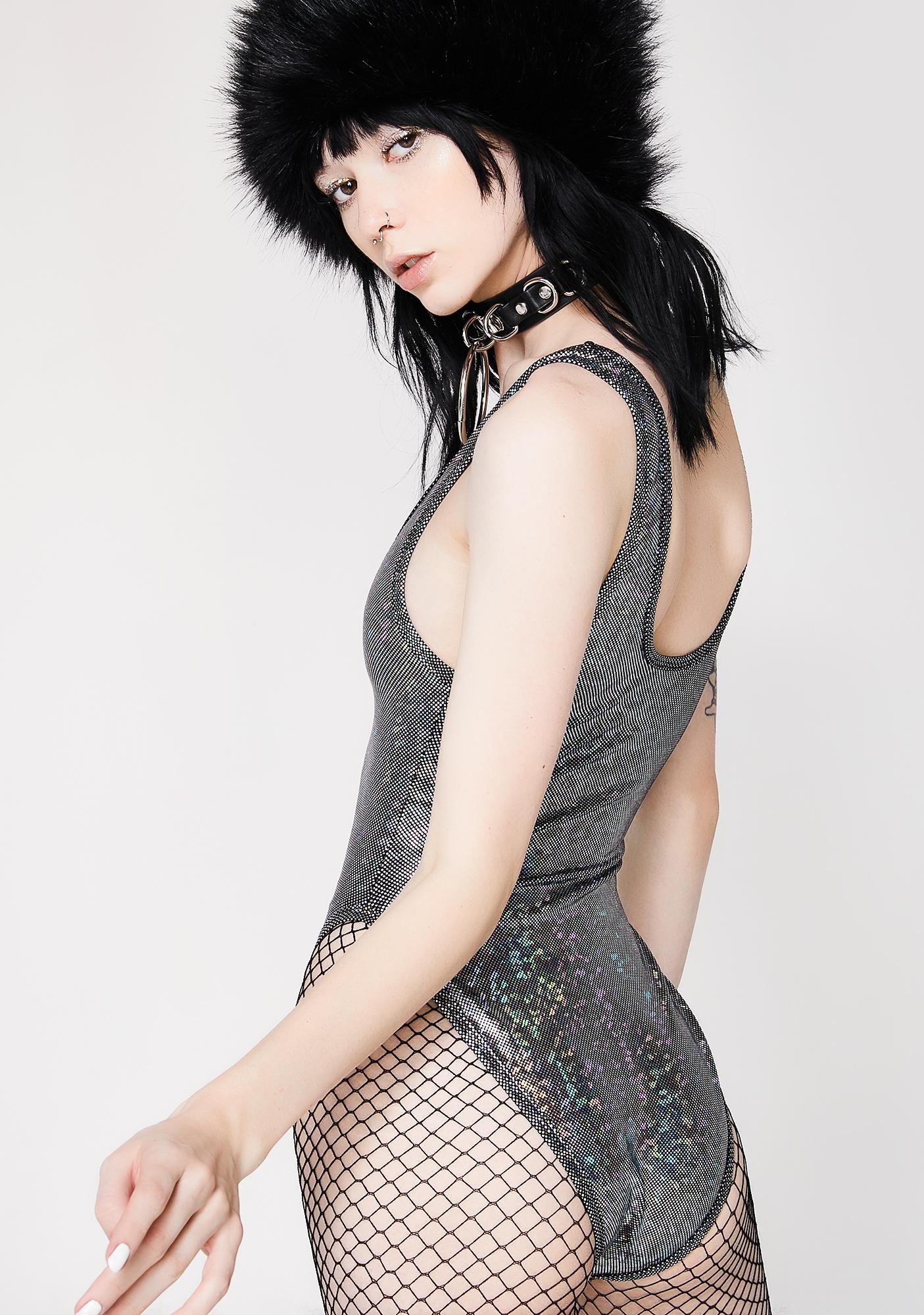 J Valentine Broken Mirror Bodysuit