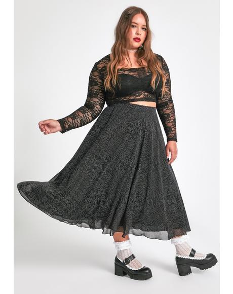 Major Static Buzz Midi Skirt