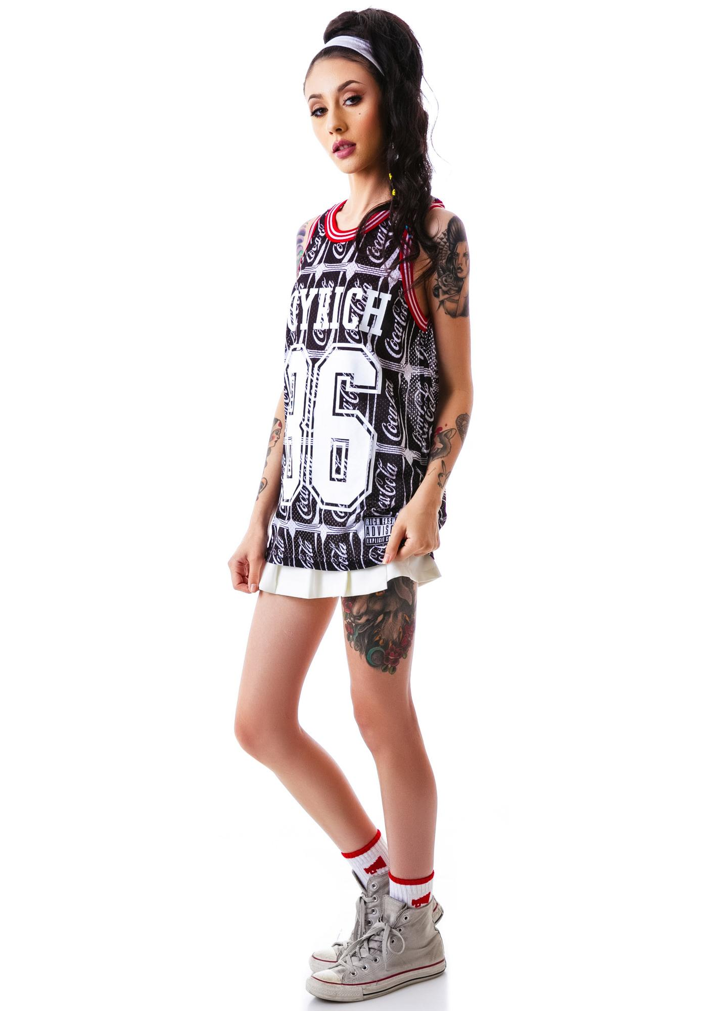Joyrich Coco-Cola Number Mesh Tank