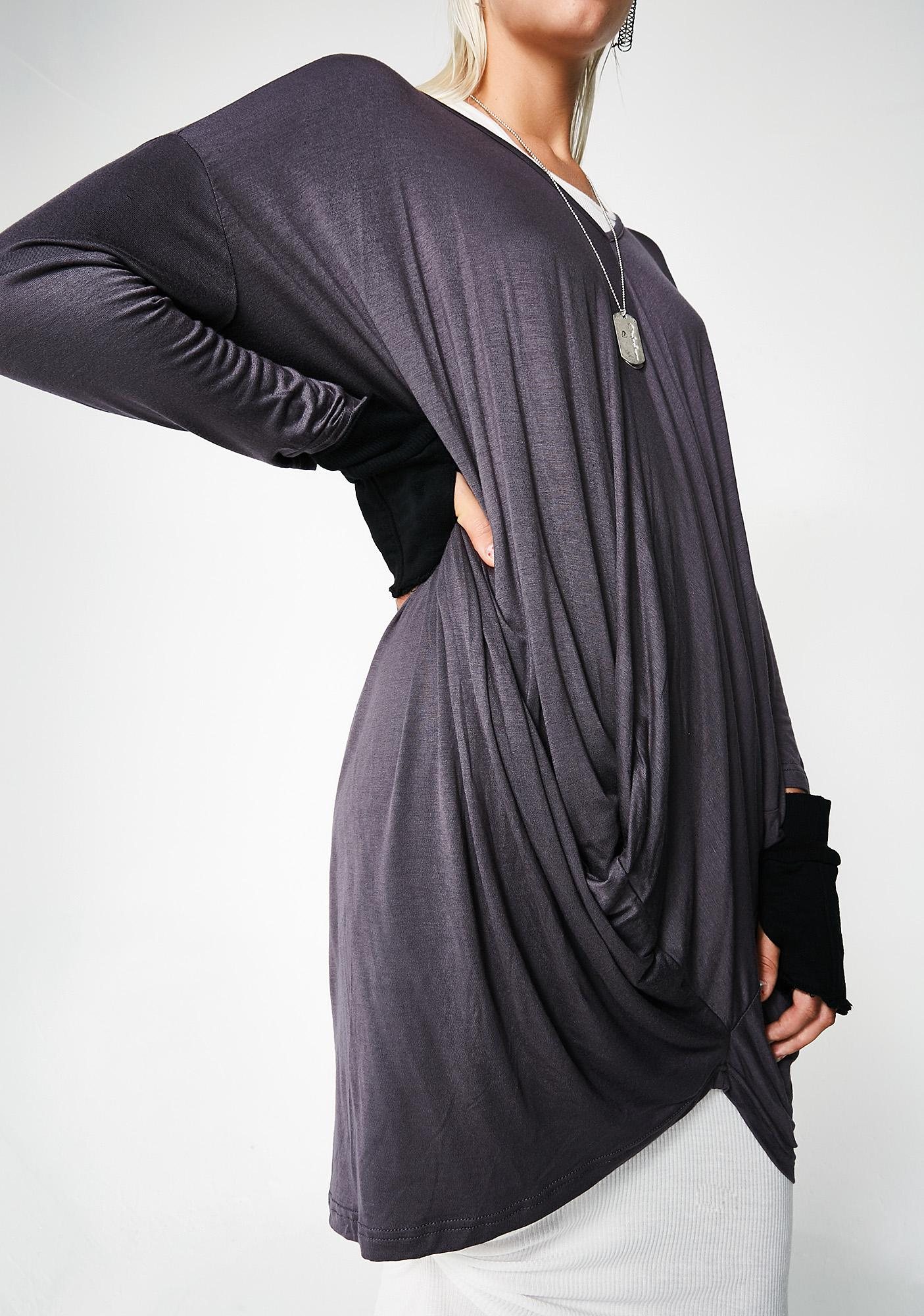 MNML Juno Long Sleeve Blouse
