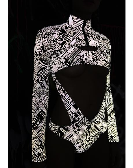 Technosexxual Reflective Shrug
