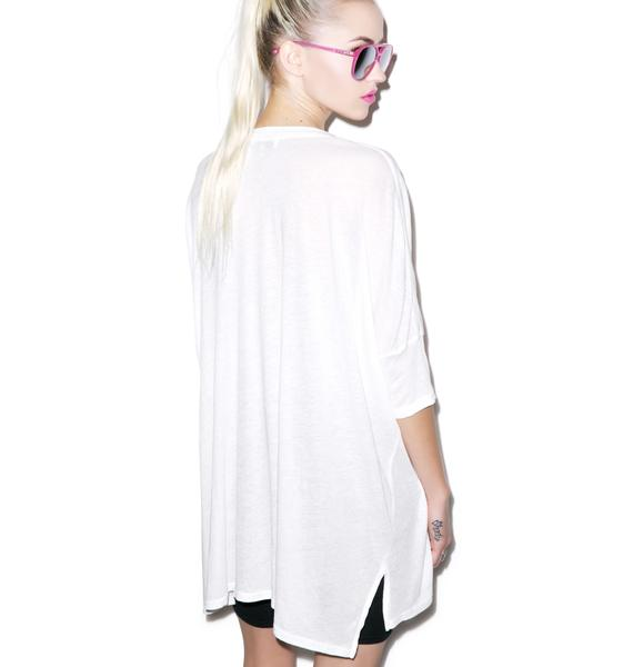 Wildfox Couture Dancin Sunday Morning V-Neck Tee