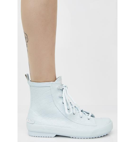 Rocket Dog Rainy Pale Blue Nevada Sneaker Rain Boots