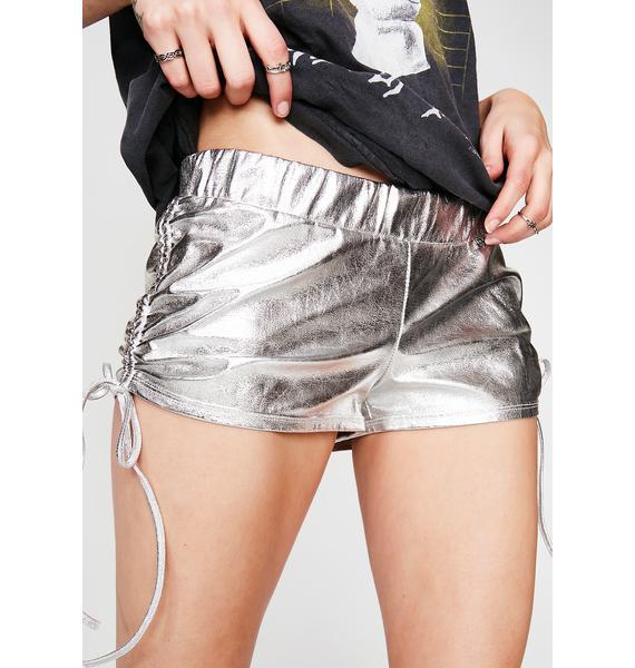 Last Chance Metallic Shorts