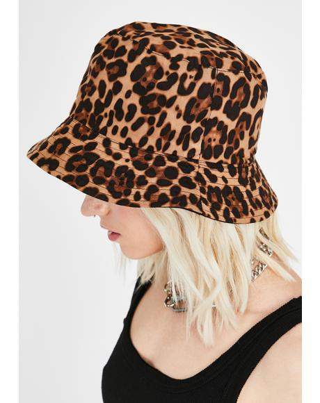 Bad Lil Kitty Bucket Hat