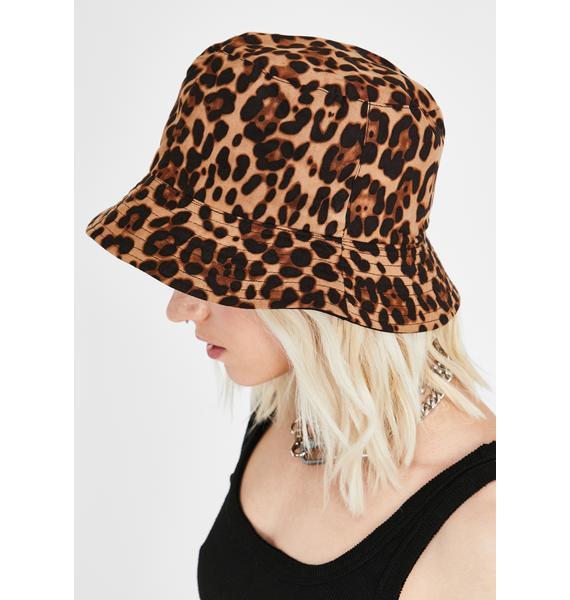 Bad Lil Kitty Bucket Hat