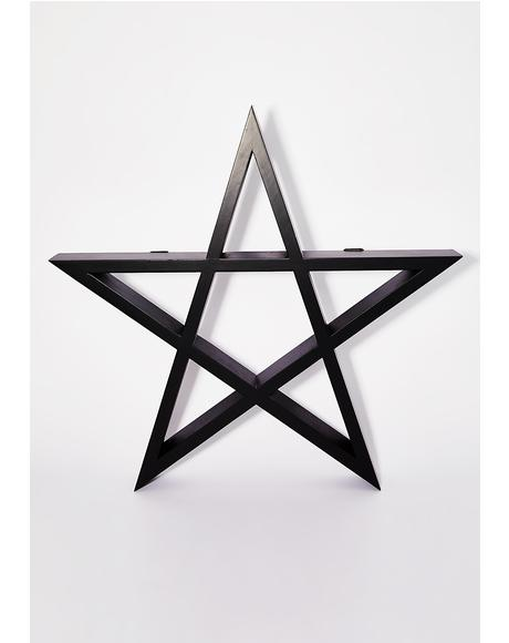 Pentagram Display Shelf