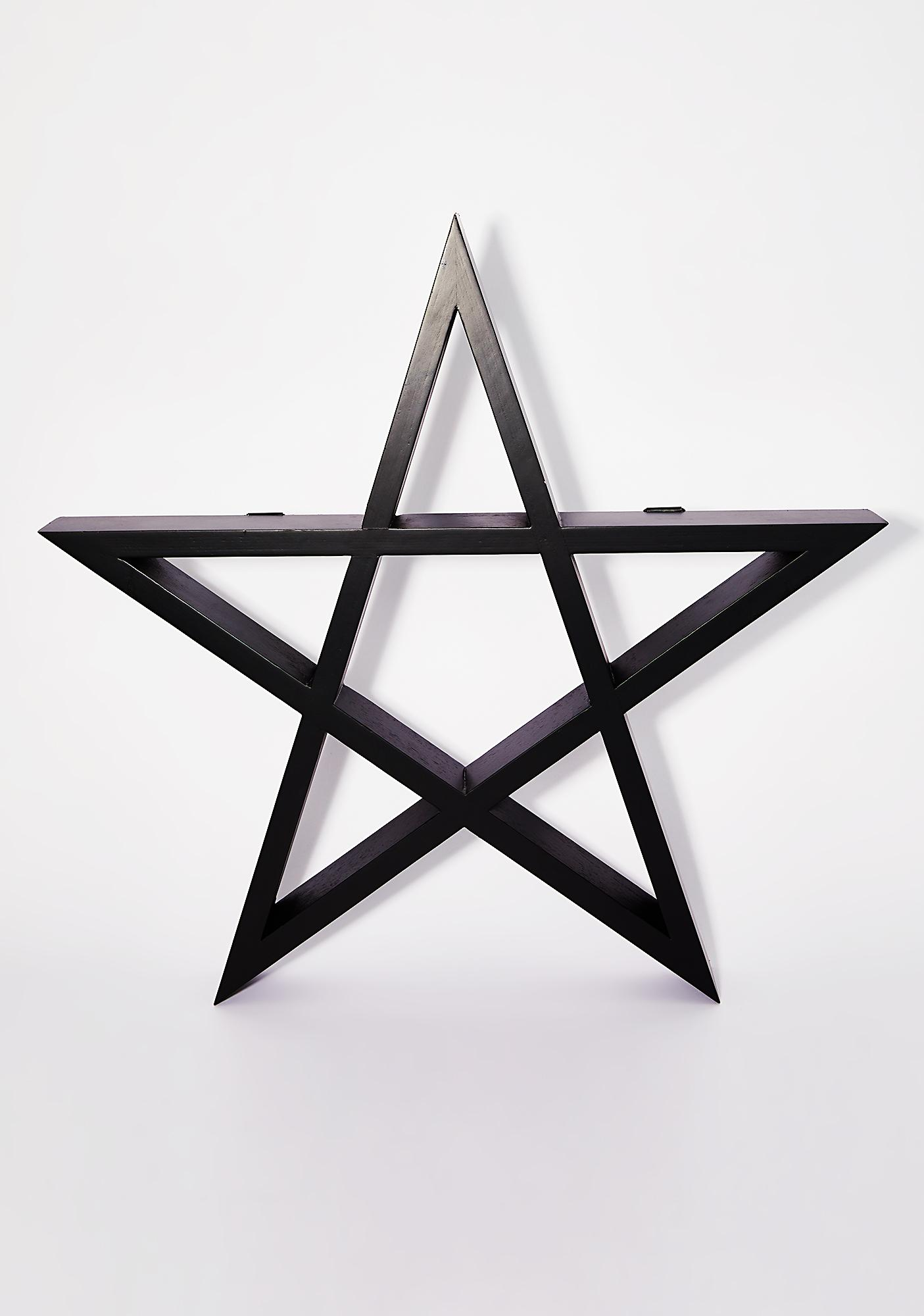73c33302a2ef Killstar Pentagram Display Shelf