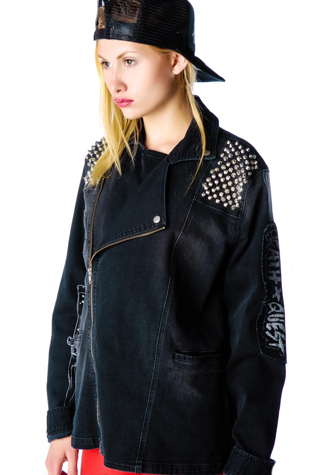 Disturbia Plague Denim Jacket