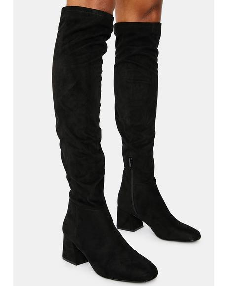 Diggy Knee High Boots