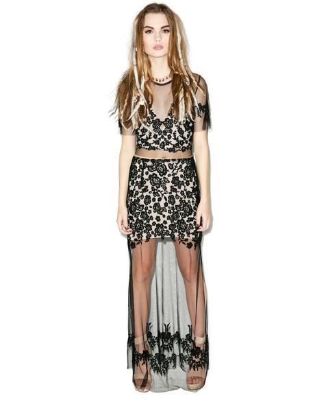 Luau Maxi Skirt