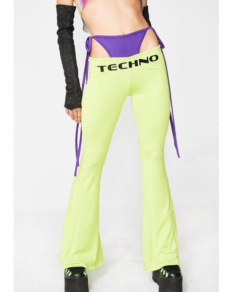 Techno G String Pants
