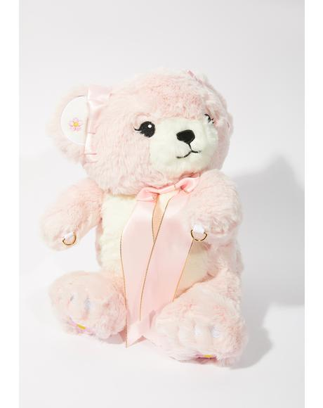 Blush Bear Buddy Crossbody Bag