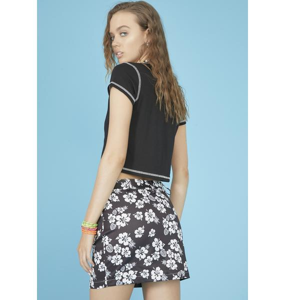 dELiA*s by Dolls Kill Island Time Mini Skirt