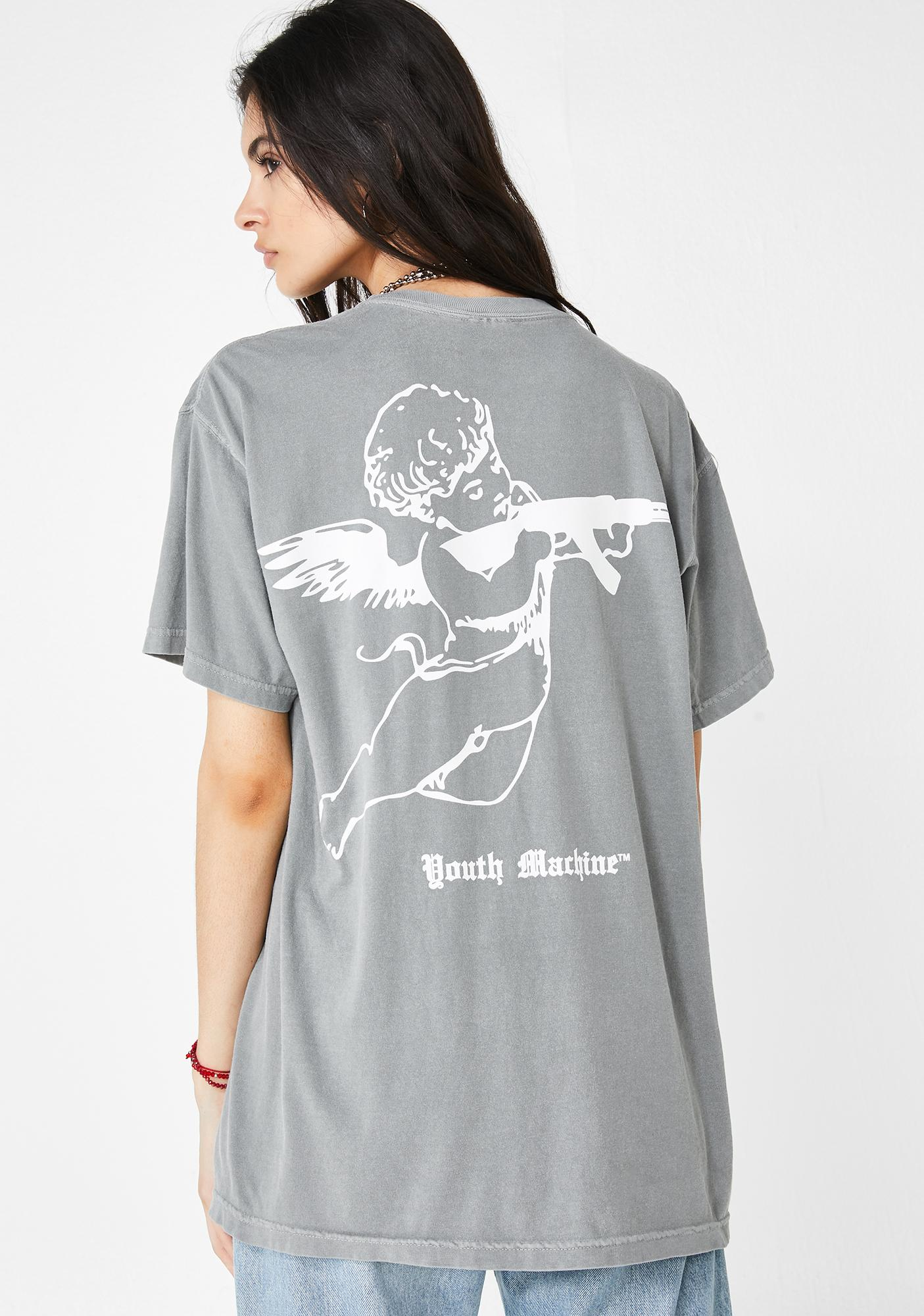 Youth Machine Arrows Graphic Tee